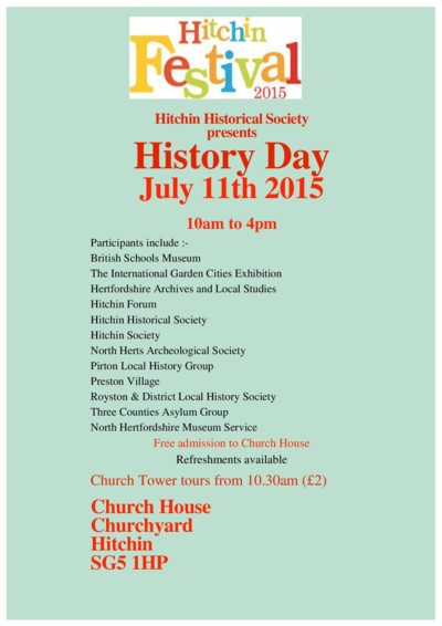 History Day flyer