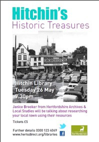 Hitchin Historic Treasures flyer