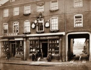 Perks' chemist shop