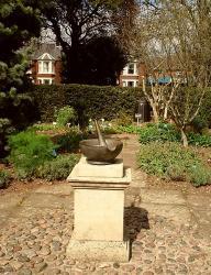 pestle mortar physic garden