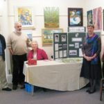 The Girton launch team at Hitchin museum