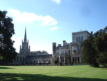 Ashridge House from the south lawns