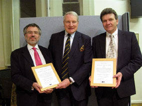 Presentation of the award