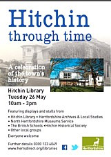 Hitchin through time flyer