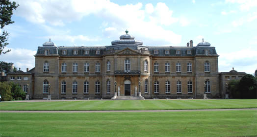 The north front of Wrest Park